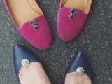 Fashion DIY Shoes With Reusable Shoe Clips