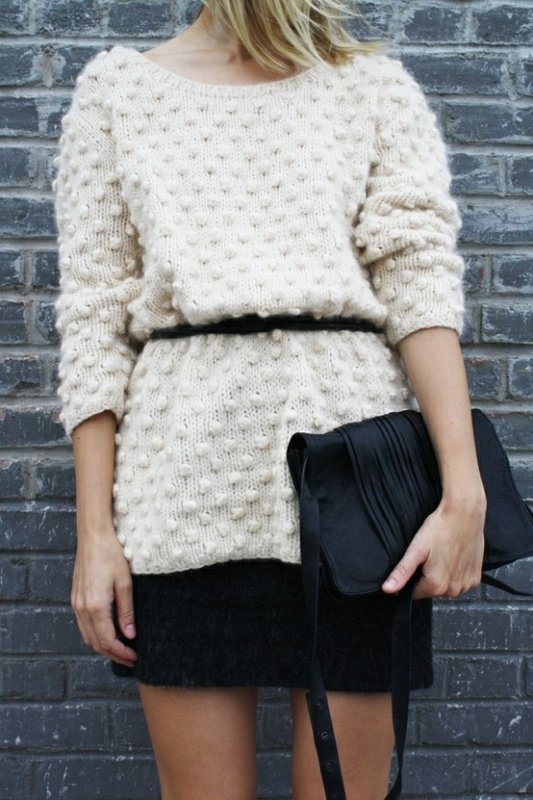 Picture Of Fashion Free Cut Sweaters 10