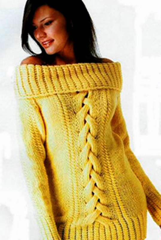 Picture Of Fashion Free Cut Sweaters 5