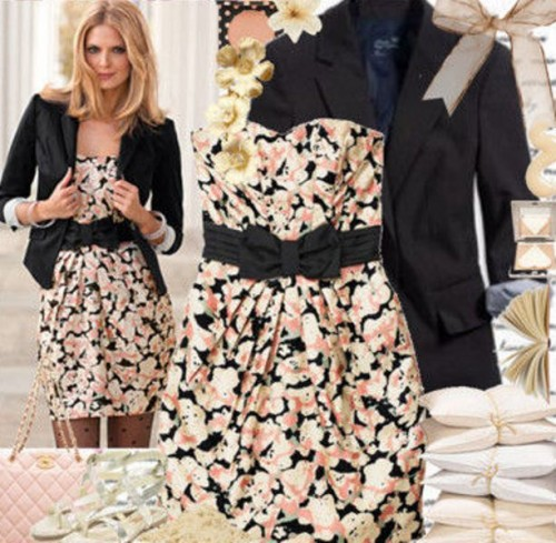 Fashionable And Stylish Floral Print In Women Clothes