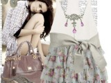Fashionable And Style Floral Print In Clothes 10
