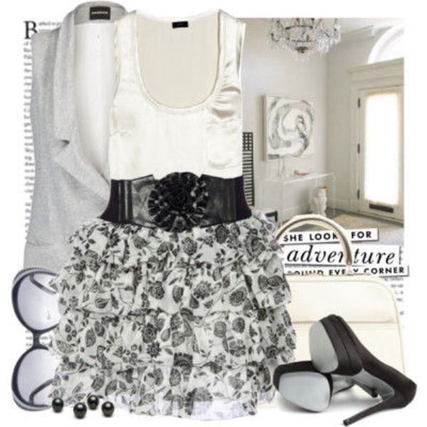 Picture Of Fashionable And Style Floral Print In Clothes 11