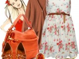 Fashionable And Style Floral Print In Clothes 14