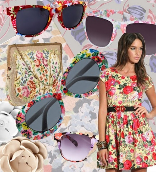 Picture Of Fashionable And Style Floral Print In Clothes 17