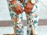Fashionable And Style Floral Print In Clothes 19