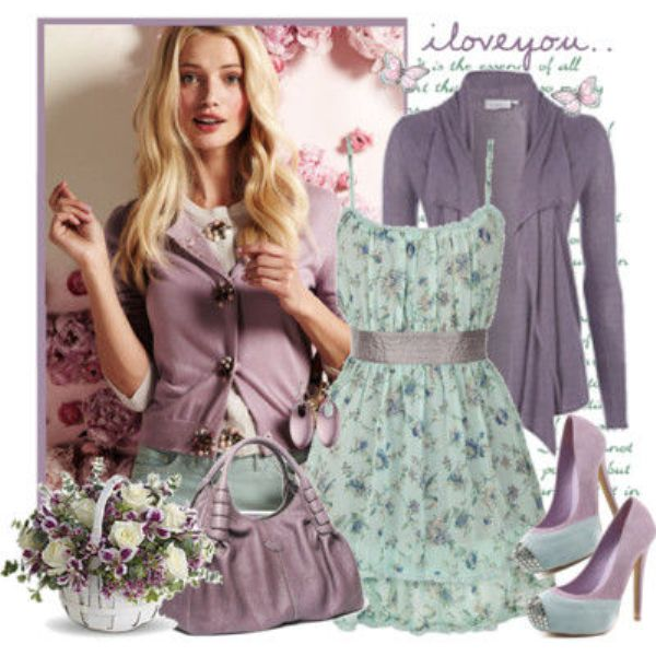 Picture Of Fashionable And Style Floral Print In Clothes 3