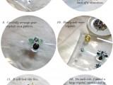 Fashionable DIY Chain Strap Swarovski Embellished Clutch4
