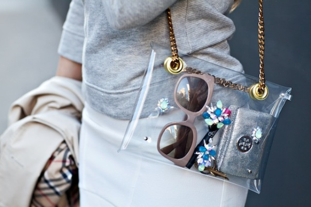 Picture Of Fashionable DIY Chain Strap Swarovski Embellished Clutch 9