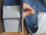 Fashionable DIY Frayed Denim5