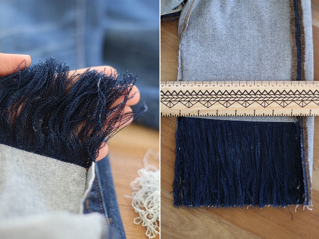 Picture Of Fashionable DIY Frayed Denim 8