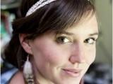 Feminine DIY Double Strand Lace Headband7