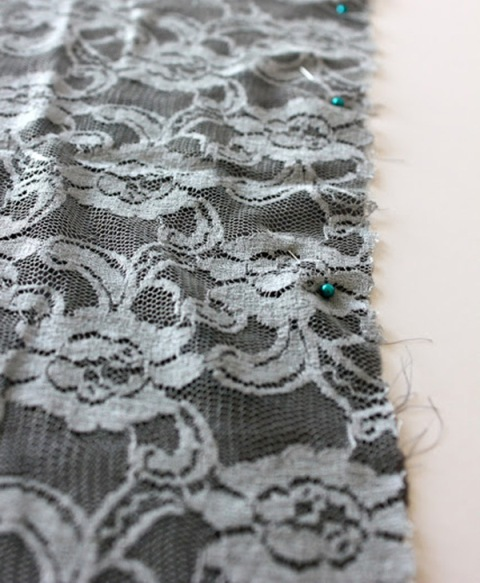 Picture Of Feminine DIY Infinity Lace Scarf 2