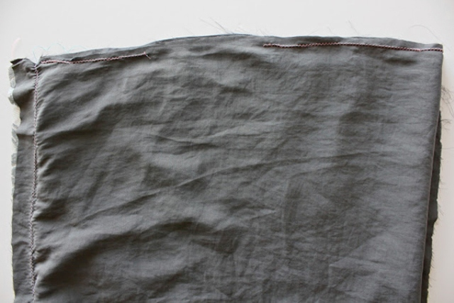 Picture Of Feminine DIY Infinity Lace Scarf 5