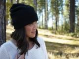 Feminine DIY Jil Sander-Inspired Veiled Beanie6