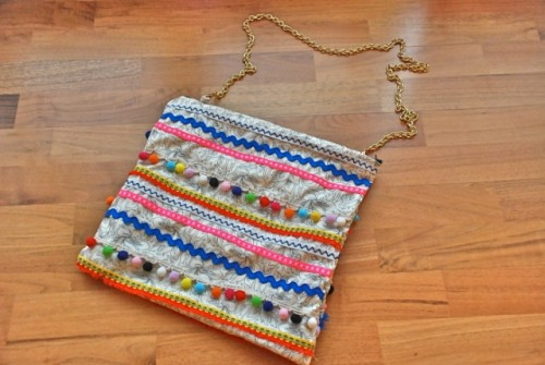 Flawless DIY Boho Chic Bag