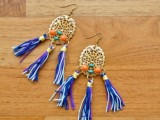 Flawless DIY Dolce & Gabbana-Inspired Earrings 2