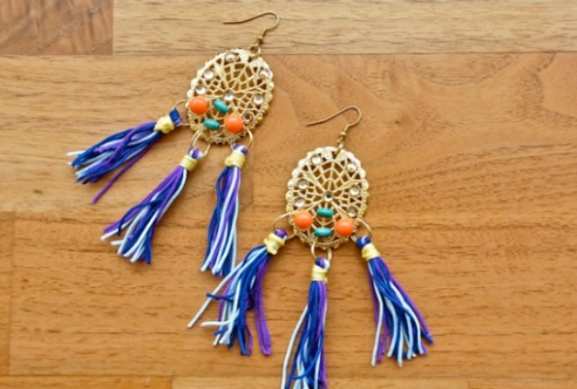 Picture Of Flawless DIY Dolce & Gabbana Inspired Earrings 2