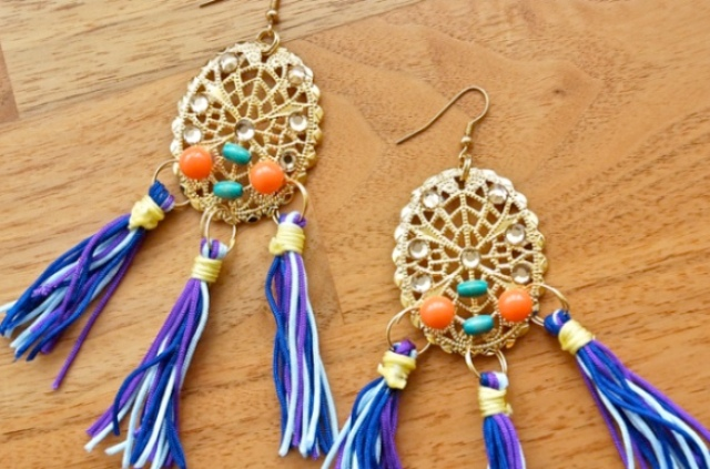 Picture Of Flawless DIY Dolce & Gabbana Inspired Earrings 3