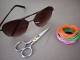 Floral DIY Embroidered Sunglasses2