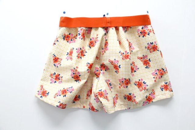 Picture Of Floral DIY Women's Boxer Shorts 11
