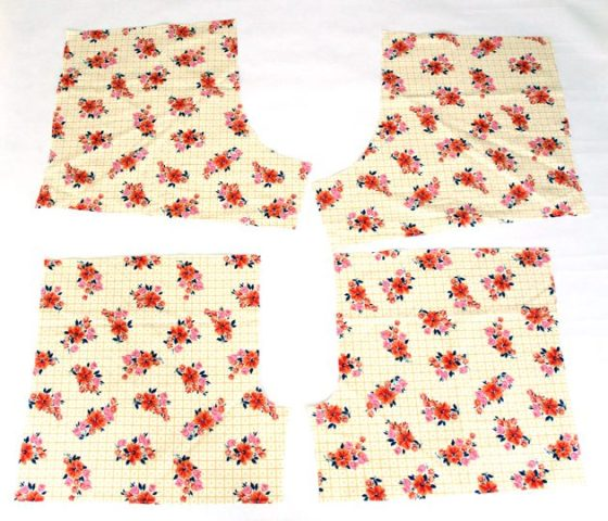 Picture Of Floral DIY Women's Boxer Shorts 3