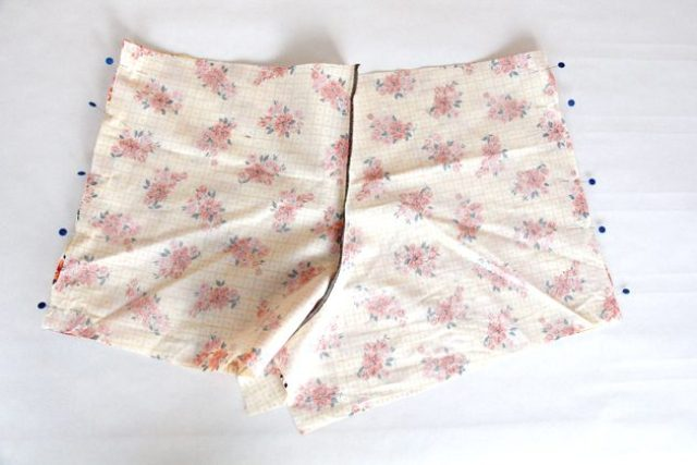 Picture Of Floral DIY Women's Boxer Shorts 6