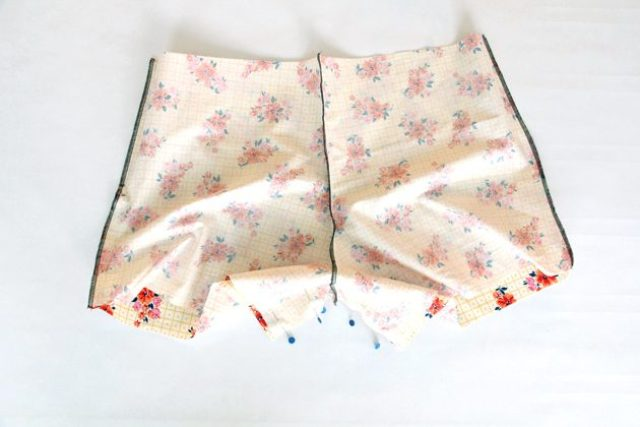 Picture Of Floral DIY Women's Boxer Shorts 7