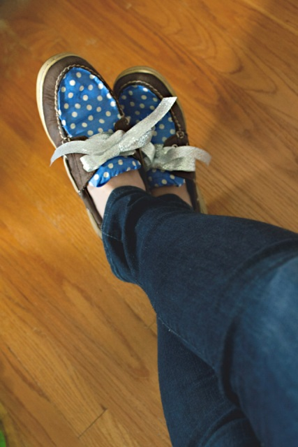 Picture Of Funny DIY Boat Shoe Embellishment 2
