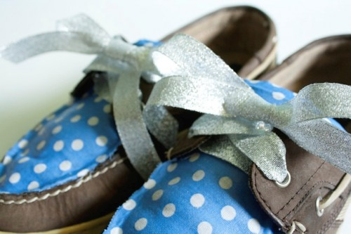 Funny DIY Boat Shoe Embellishment