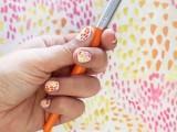 Funny DIY Brush Strokes Nail Art2