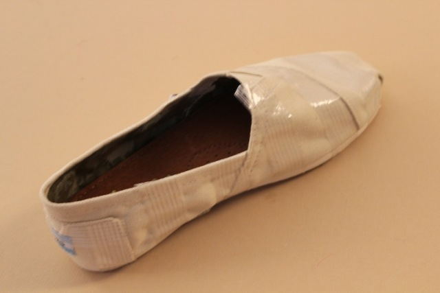 Picture Of Funny DIY Neon Stripe Shoes 3