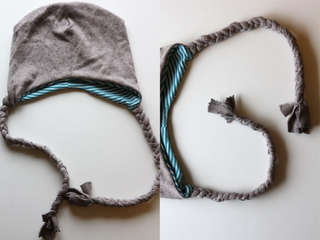 Picture Of Funny DIY Snowy Day Hat 2
