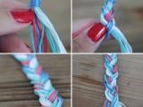 Gentle DIY Braided Cuff Bracelet5