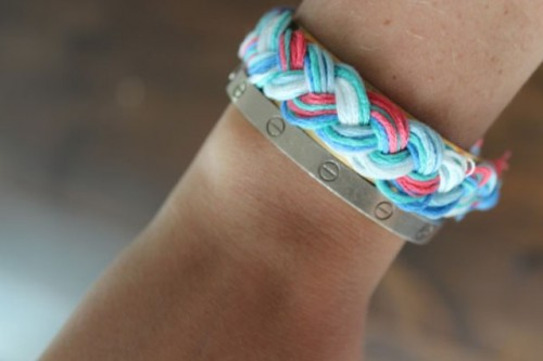 Gentle DIY Braided Cuff Bracelet