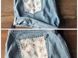 Gentle DIY Floral Pocket Shorts4