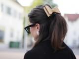Girlish DIY Leather Hair Bow