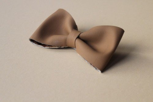 Girlish DIY Leather Hair Bow