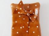 Girlish DIY Polka Dot Leather Clutch2