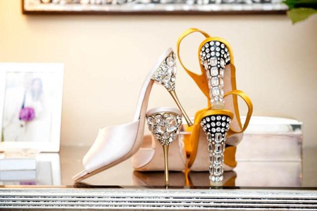 Picture Of Glamorous DIY Miu Miu Jeweled Heels 1