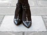 Gorgeous DIY Studded Heels