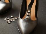 Gorgeous DIY Studded Heels5