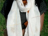 Lace Infinity Scarf Restyle 1