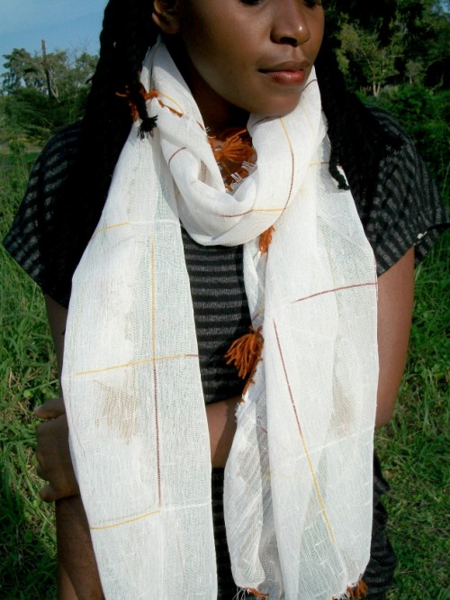 Easy DIY Lace Infinity Scarf Restyle