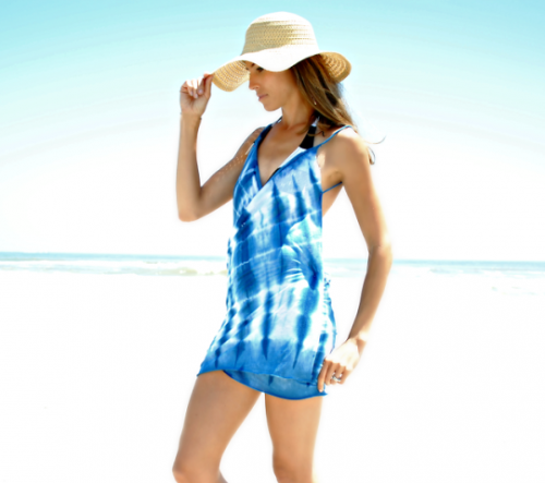 Easy And Seductive DIY Beach Dress