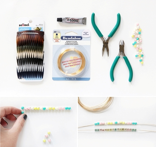 Picture Of Lovely DIY Embellished Cat Ears 3