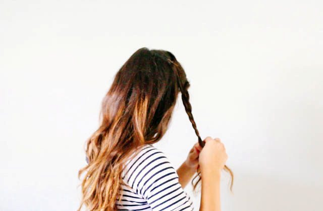 Picture Of Lovely DIY Half Crown Braid 3