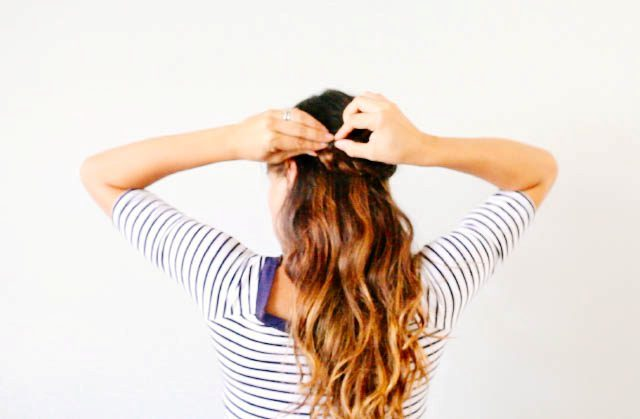 Picture Of Lovely DIY Half Crown Braid 8