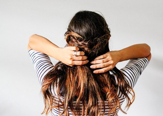 Picture Of Lovely DIY Half Crown Braid 9