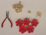 Nautical DIY Red Necklace2