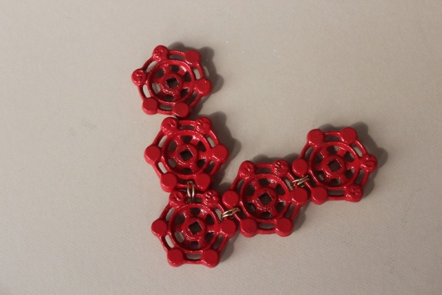 Picture Of Nautical DIY Red Necklace 6
